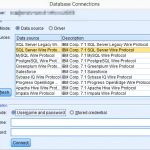 spss-modeler-database-connection